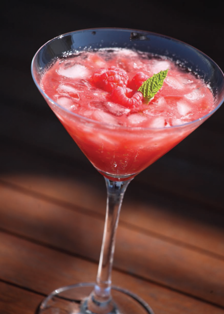 The Frozen Pink Festival cocktail