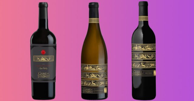 How the official Game of Thrones wine range will look (Photo: Vintage Wine Estates/HBO)
