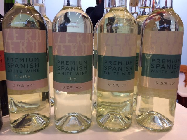 ConeTech's own range of no and low-alcohol wines from Spain