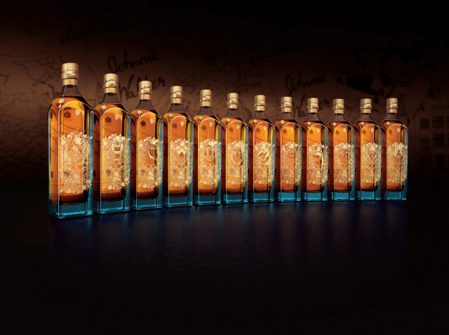 Johnnie Walker Launches 163 3 000 Zodiac Collection