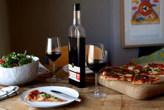 Flat-bottled wine and frozen pizza – is this the future?