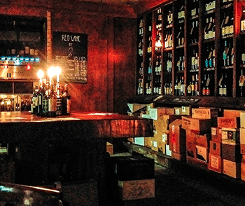 The Winemakers Club's existing bar in Farringdon