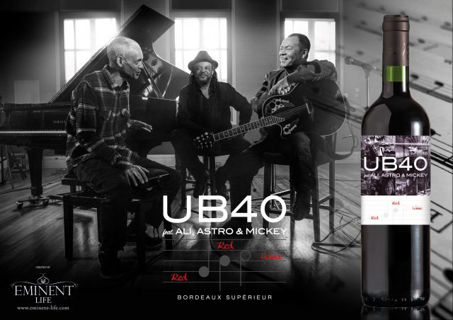 UB40 Red Red Wine by Eminent Life