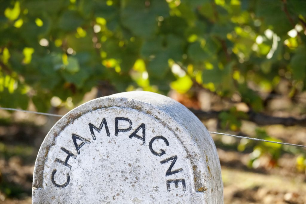 Stone Champagne Vineyard Sign Chardonnay in Champagne DB June 2017 LEAD IMAGE 1024x683.