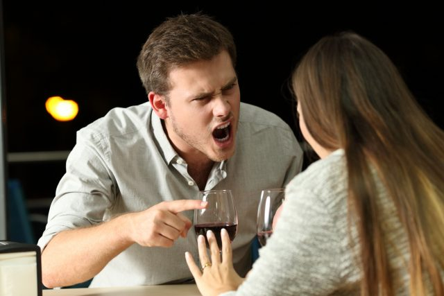 not drinking alcohol on a date
