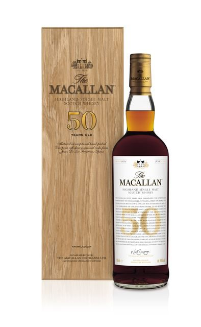 50 Year Old Whiskey >> The Macallan Releases 25k 50 Year Old Single Malt
