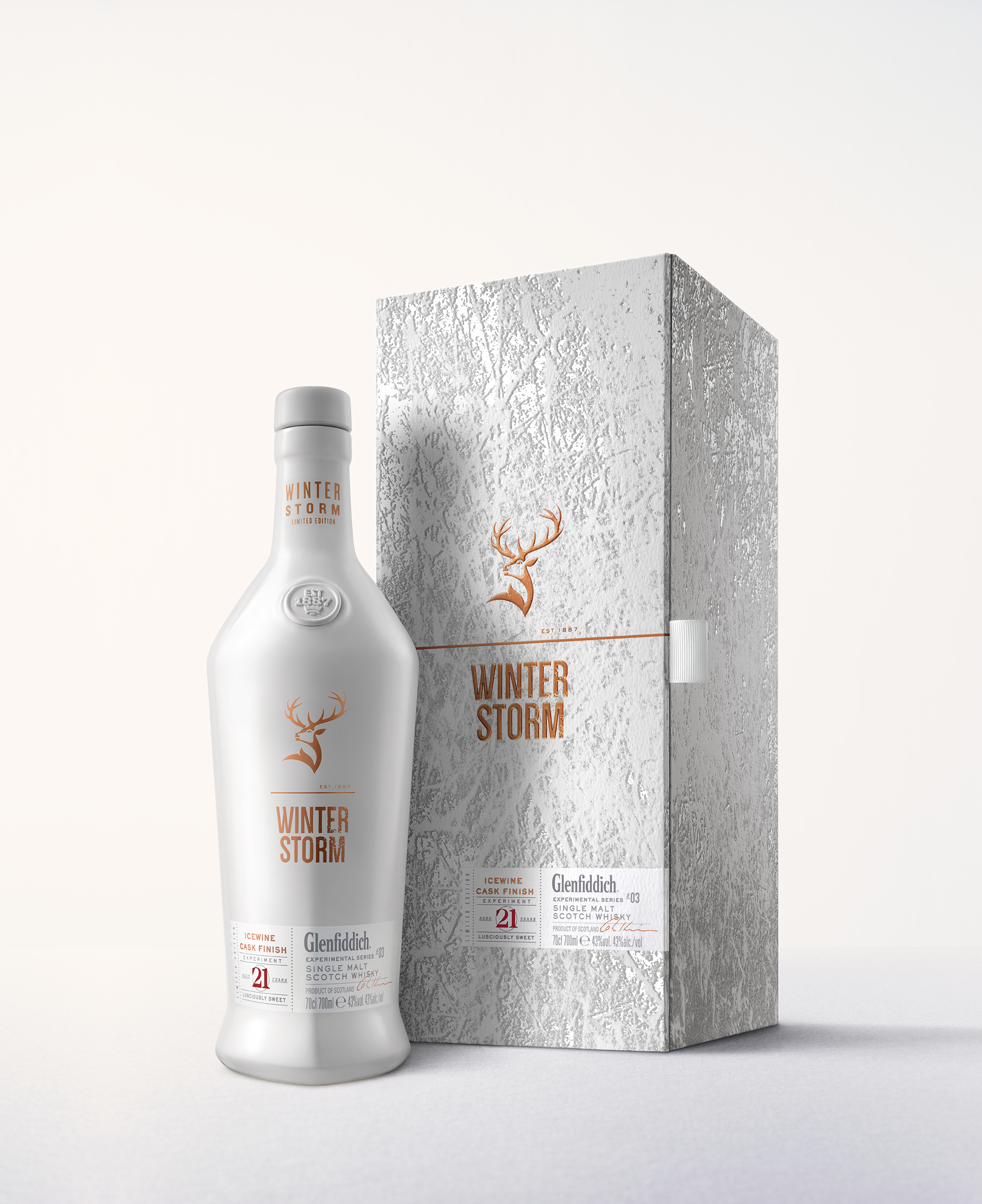 William Grant to launch 'Glenfiddich Winter Storm' whisky in