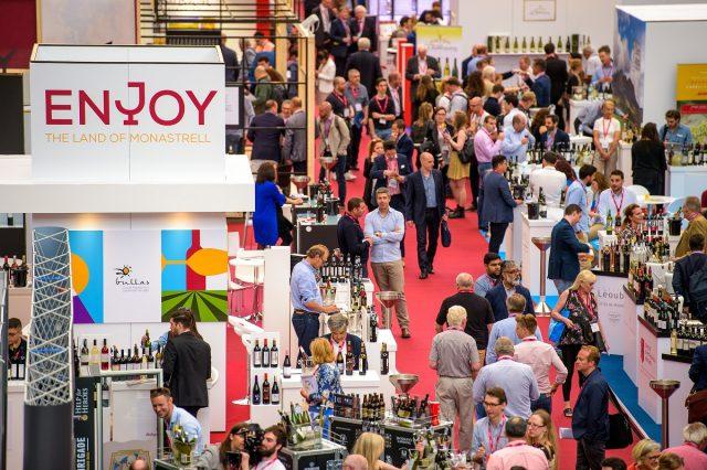 Resultado de imagen para stand de argentina en london wine fair 2019