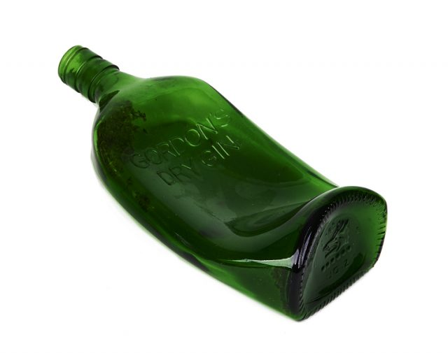 Two Melted Gordon S Gin Bottles Sold At Auction For Over 13 000