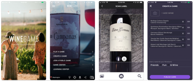 New app turns any wine bottle into blind tasting quiz