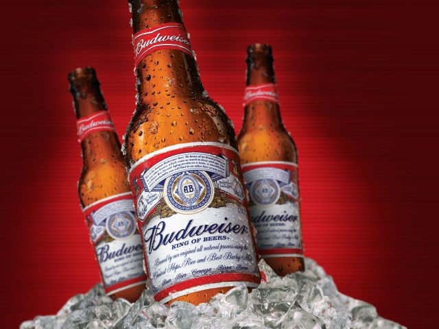 Budweiser more popular in China than the US