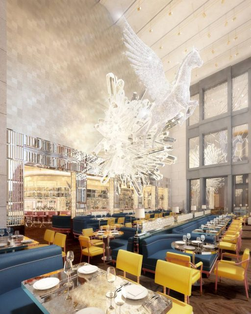 d2f59441c5e2 The Ivy owner to open restaurant with 24ft crystal statue at Selfridges