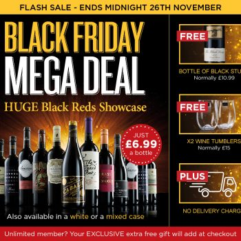 Top Picks Of Black Friday Wine And Spirits Deals