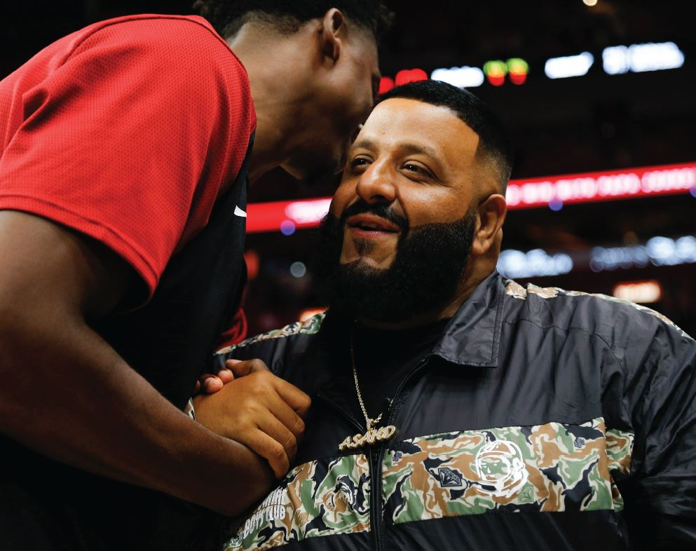 Hip hop star DJ Khaled is a (surprising) factor behind the rise of one Burgundy label this year