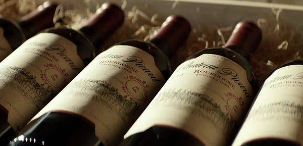 """e085f2737c307 A still from the full trailer from the new series showing wines made at the  Picard family vineyard. """""""