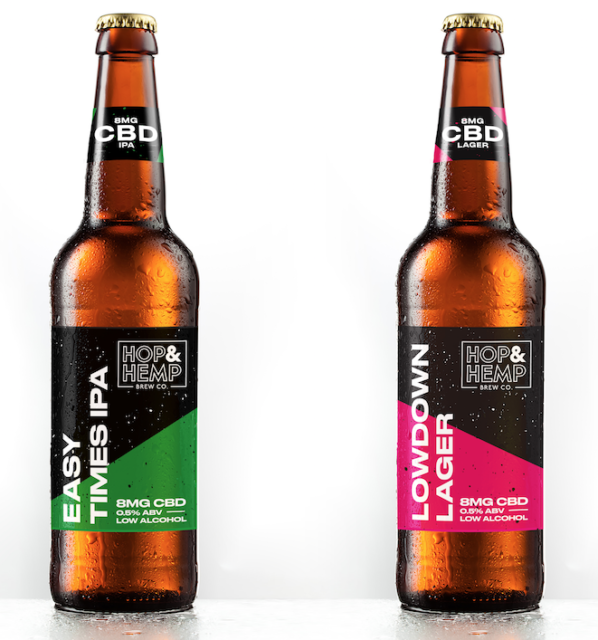 UK startup launches CBD-infused low ABV beer with help from Danish