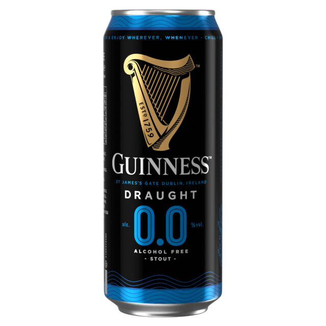 Guinness is bringing out an alcohol-free version of the black fabric