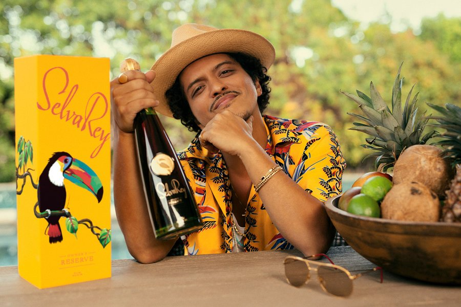 Bruno Mars' top rum sells out in two hours - The Drinks Business