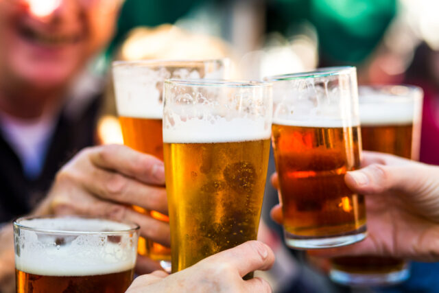 Beer - how 'beer goggles' affect our perception
