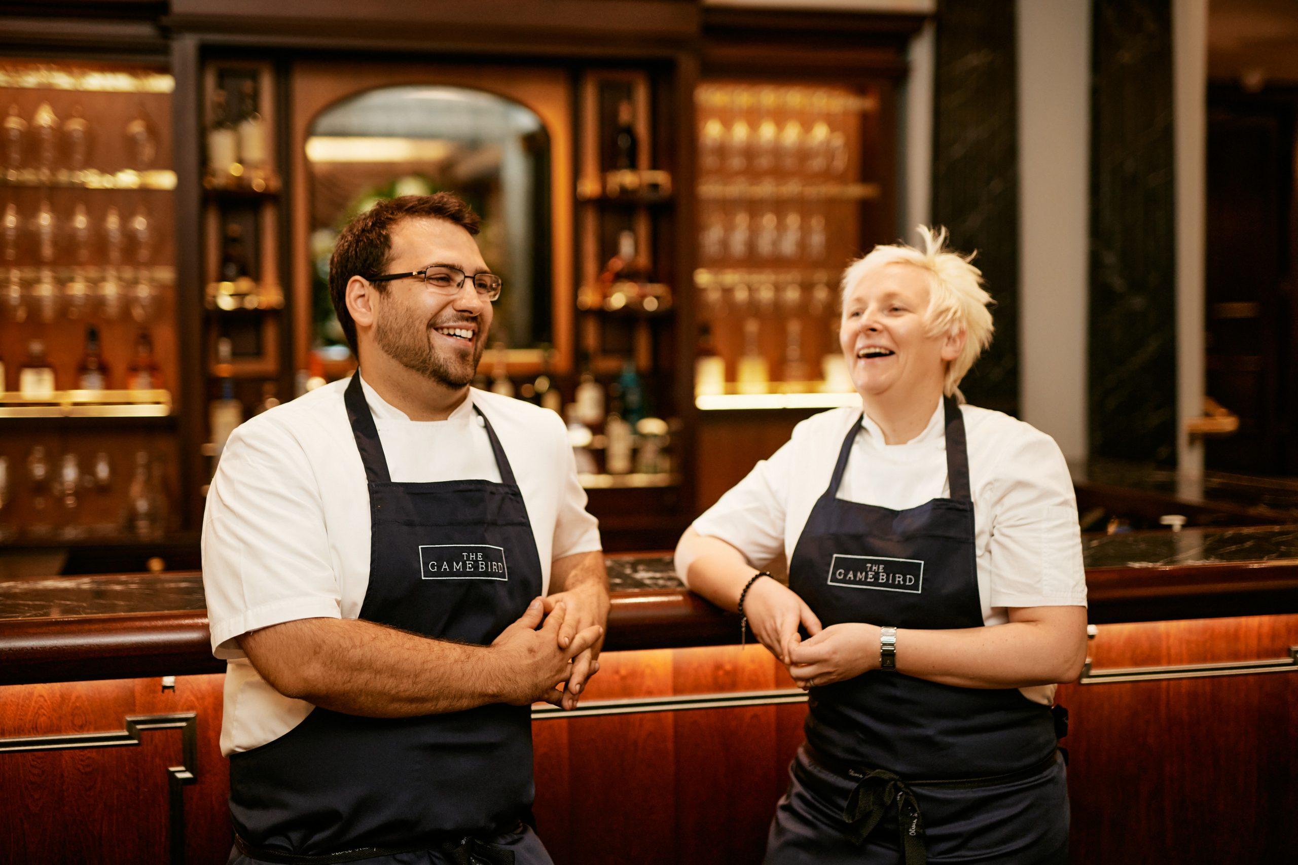 Lisa Goodwin-Allen and Jozef Rogulski: Lisa Goodwin-Allen joins restaurant team at The Stafford London