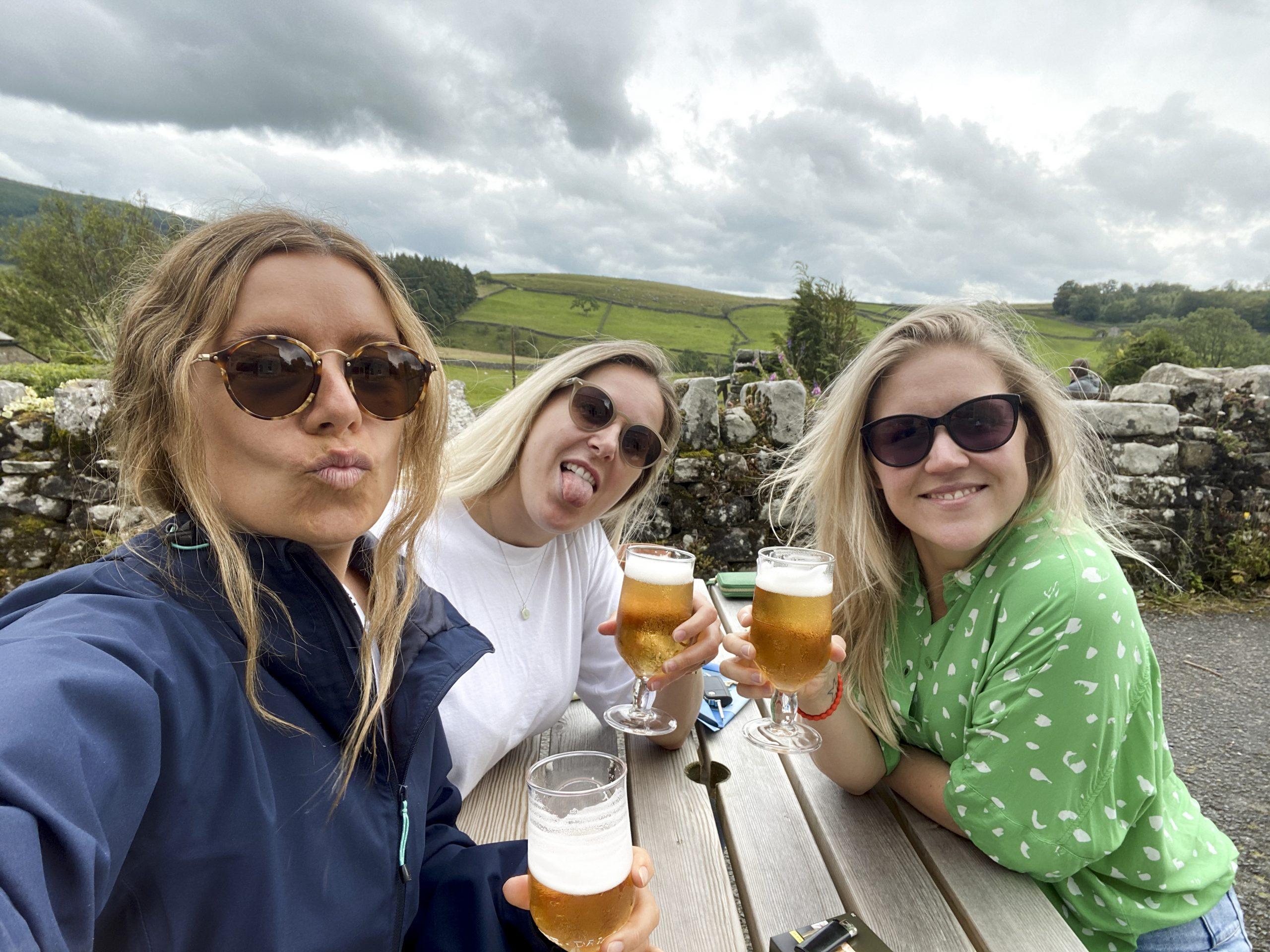 American baffled by pub