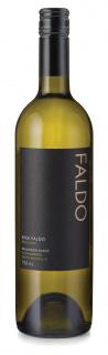 A bottle of Nick Faldo white wine