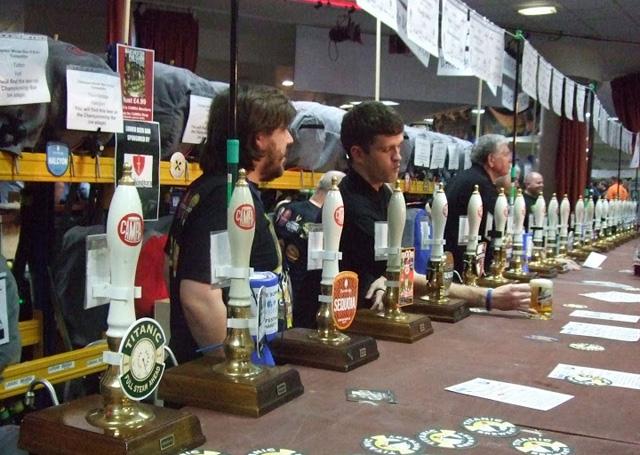 The National Winter Ales Festival (Image © Stuart Revell)