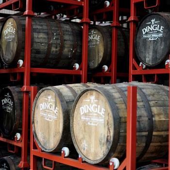 Dingle Whiskey Barrels