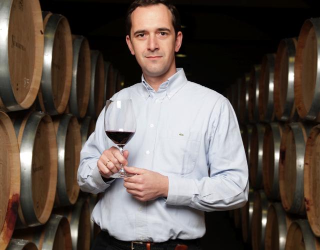 Numanthia's winemaker Manuel Louzada