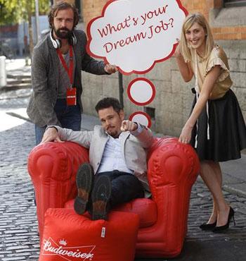 Budweiser Dream Job Launch