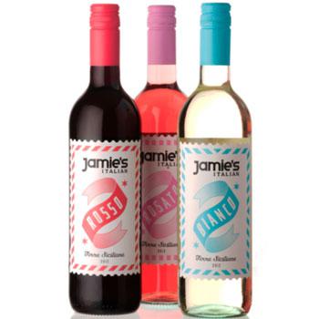Jamie's Italian wines