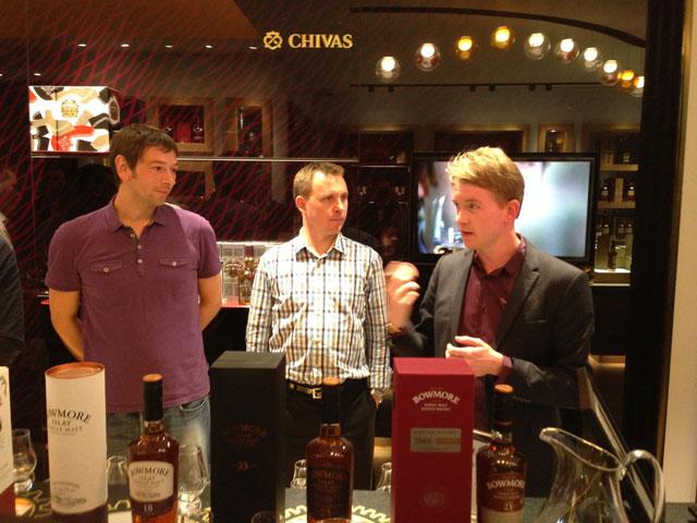 Bowmore tasting at the Whisky Shop