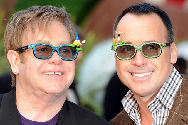 Elton John and David Furnish to open Vegas Champagne bar
