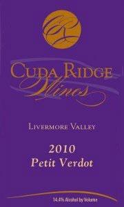 Cuda Ridge Livermore Valley Petit Verdot