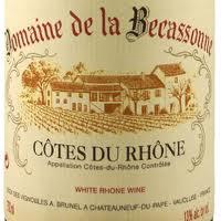 Domaine de la Becassonne Blanc 2012