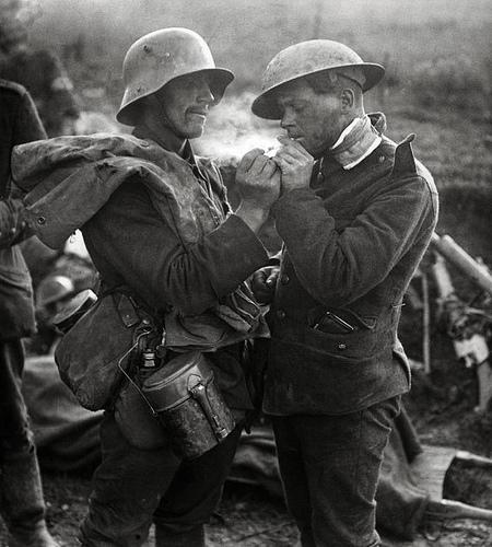 British/german soldiers