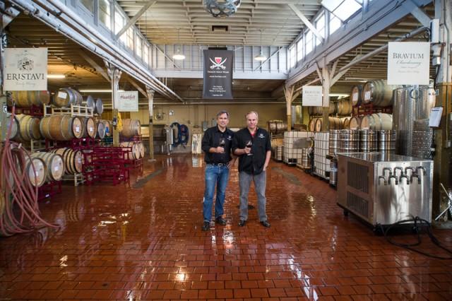 Jim and Paul Treasure Island Wine