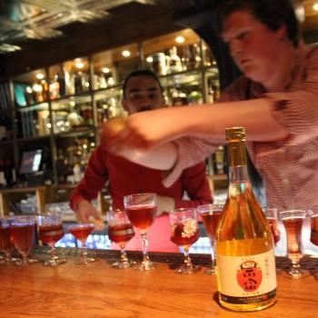 140710 - Digestif Sake Cocktail at Hixter