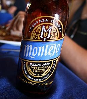 Montejo beer(1)