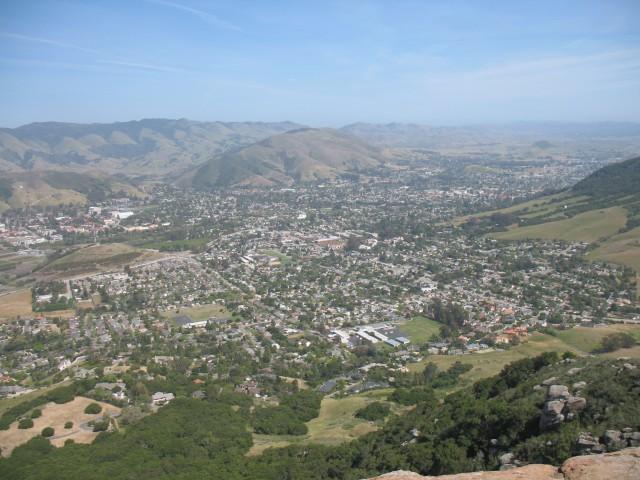 The wine region of Paso Robles lies within San Luis Obispo County, California (Photo, Wiki)