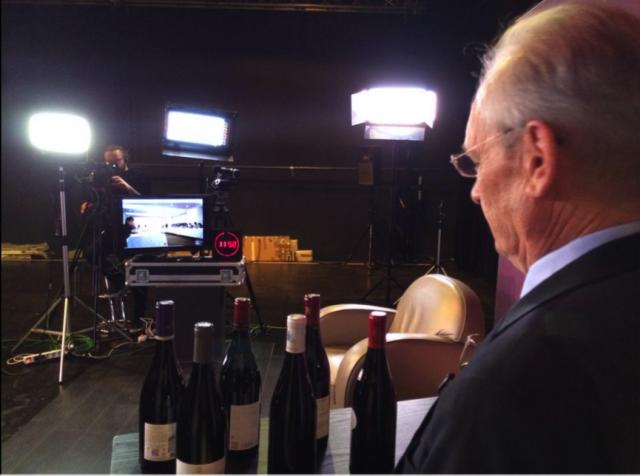 Jean-Pierre Renard on set. Credit: @BourgogneLive