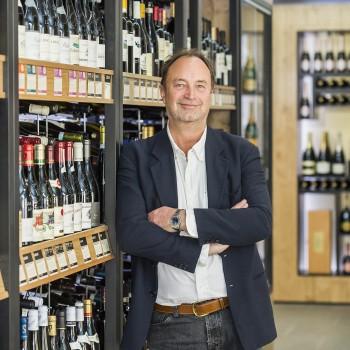 The new CEO of Majestic Wine, Rowan Gormley, in Majestic's Mayfair store (Photo: Majestic)
