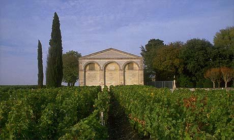 Mouton Rothschild vineyards
