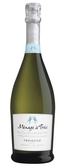 Bosco Viticultori supplies grapes for Menage à Trios Prosecco