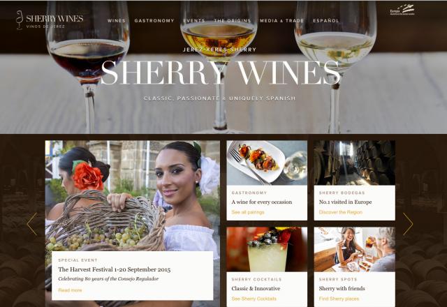 Sherry.org New Web Screen Shot