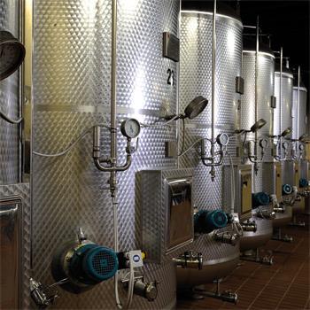 The vats at the Follador winery (Photo: Follador)