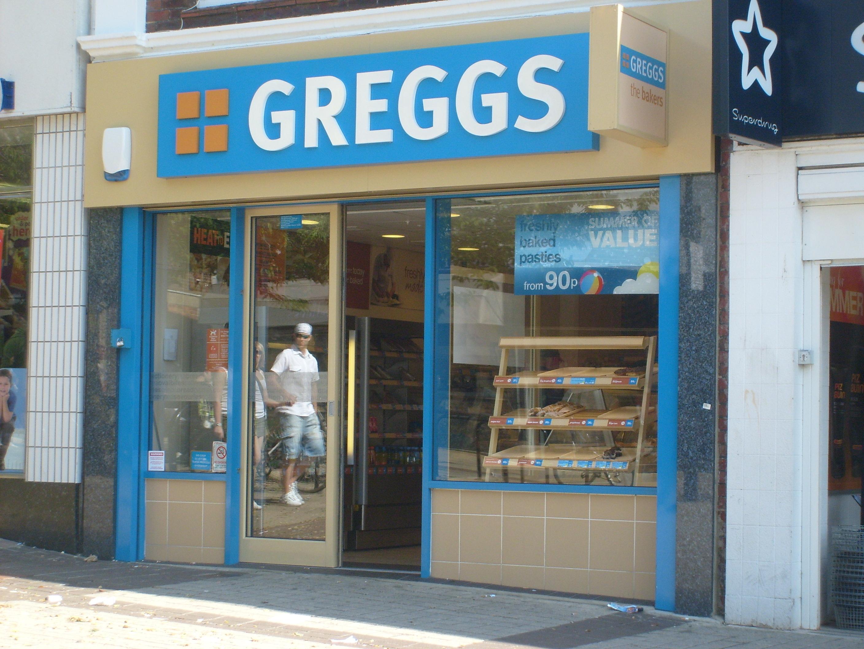 Modern Greggs The Bakery.