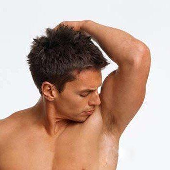 Sweaty armpit