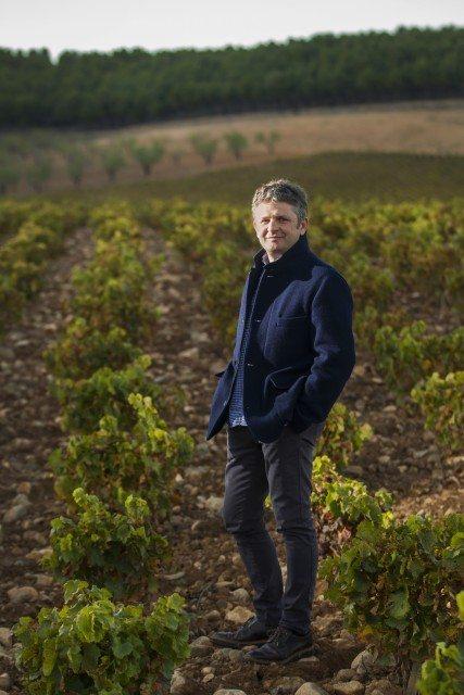 """Álvaro Palacios en su finca """"La Montesa"""" en Alfaro. La Rioja"""