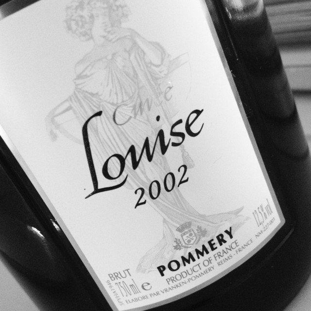 Pommery cuvee louise